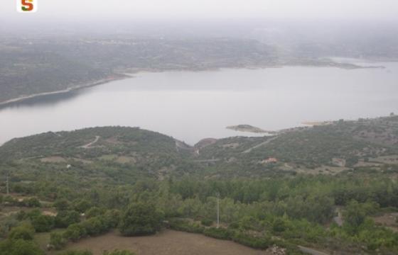 Vista sul Lago Omodeo