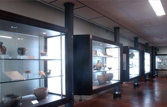 Villanovafranca, Museo Su Mulinu: sala espositiva