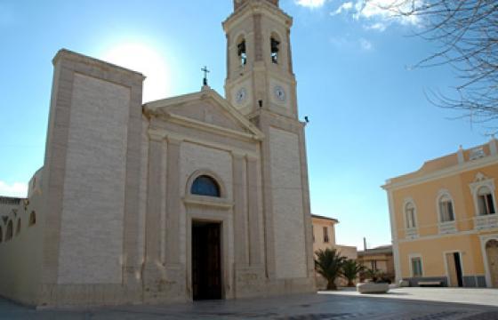 Sinnai, Chiesa di Santa Barbara Vergine