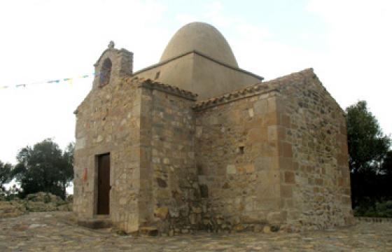 Nuxis, chiesa Paleocristiana di Sant'Elia