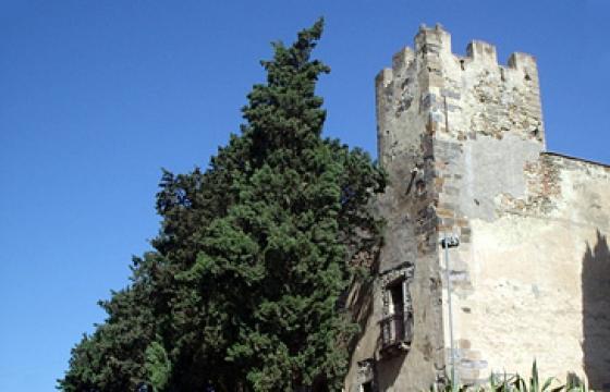 Sanluri, scorcio del castello