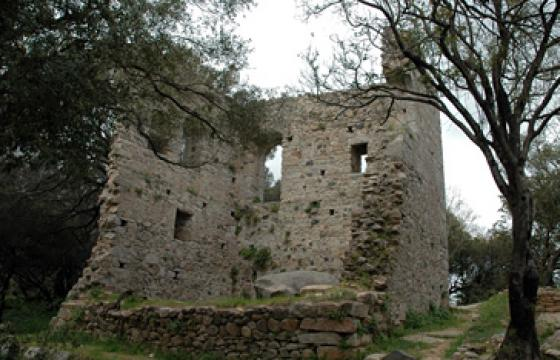 Luogosanto, palazzo di Baldu
