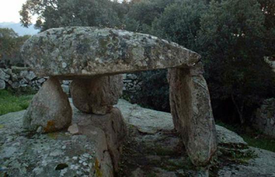 Luras, dolmen Billella
