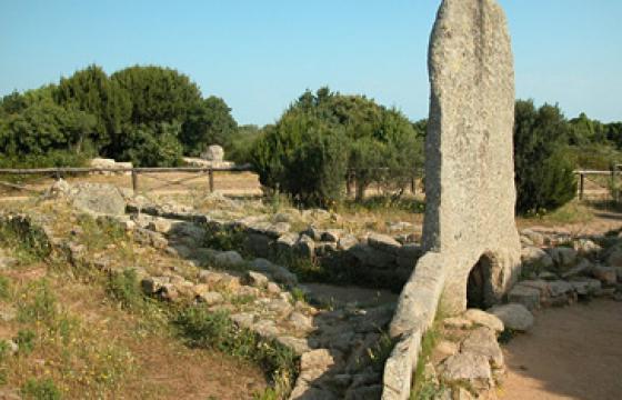 Palau, Tomba di giganti di Li Mizzani