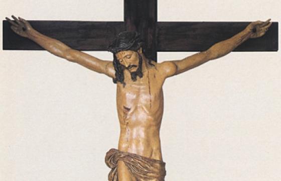 Alghero, Crocifisso seicentesco nella Chiesa della Misericordia