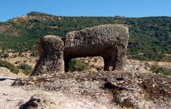 Bonorva, Necropoli di Sant'Andrea Priu: il toro