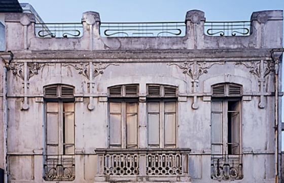Cagliari, palazzina liberty in via Sonnino