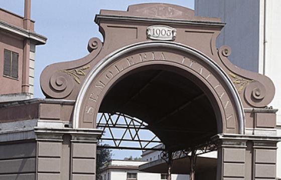Cagliari, portale della Semoleria Italiana