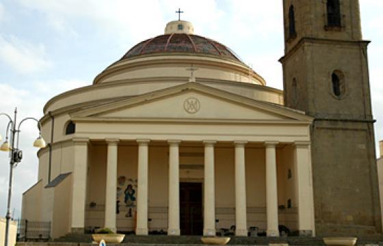Guasila chiesa della vergine assunta