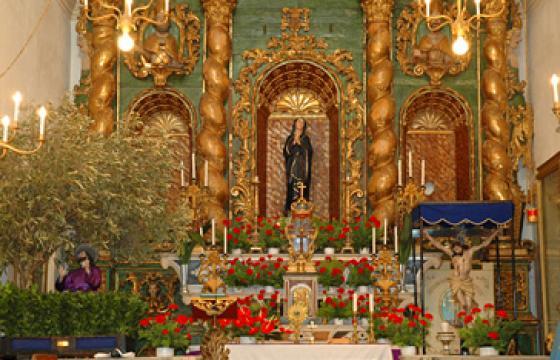 Cagliari, Oratorio del Santissimo Crocifisso, interno