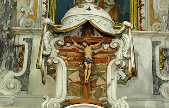 Cagliari, Oratorio delle Anime del Purgatorio, interno
