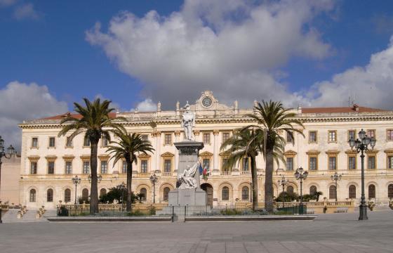 Sassari, Piazza d'Italia