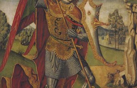 Maestro di Castelsardo, particolare del retablo di Tuili