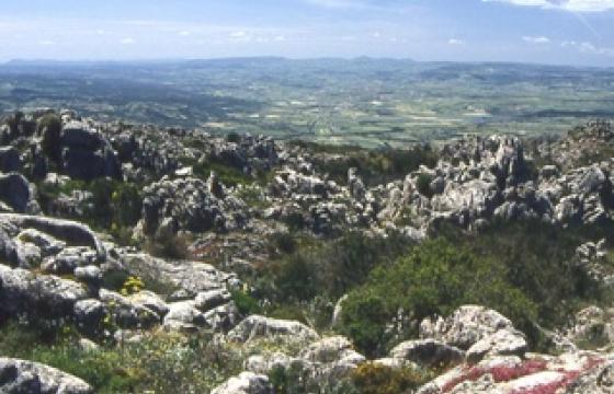 Panorama da Bortigiadas