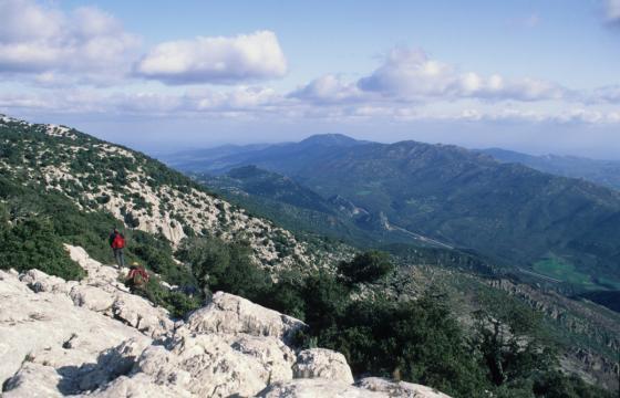 Monte Albo e le vallate che lo circondano