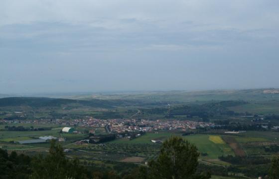 Panoramica di Barrali
