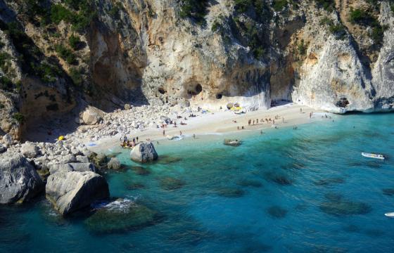 Punta Ispuligi, spiaggia Cala dei Gabbiani