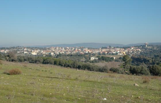 Sant'Andrea Frius, panorama del paese