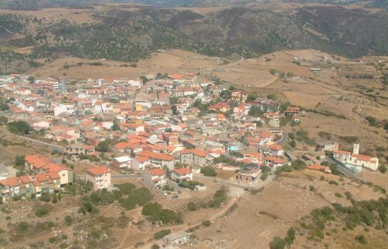 Silius, panoramica del paese