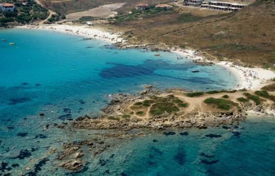 Golfo Aranci, le acque turchesi di Cala Sassari
