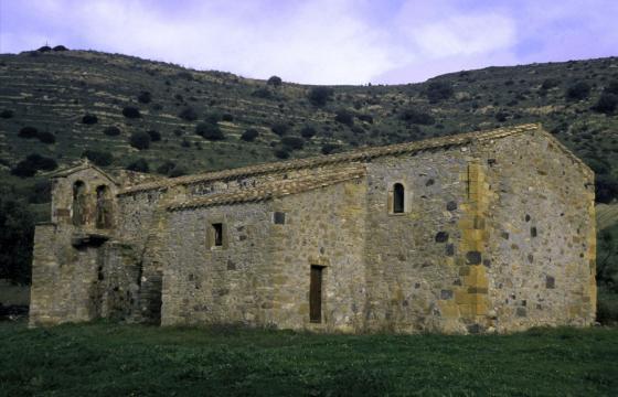 Genuri, la chiesa campestre di San Domino