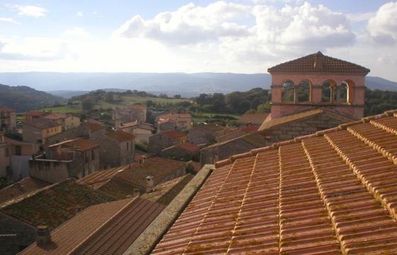 I rossi tetti di Osidda