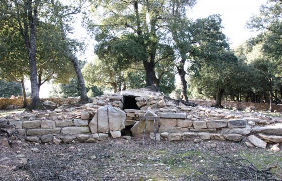 Villagrande Strisaili, area archeologica di Sa Carcaredda