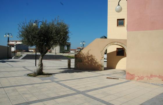 Samatzai, piazza Primo Maggio