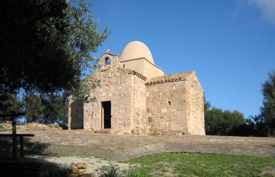 Nuxis, chiesa campestre di Sant'Elia