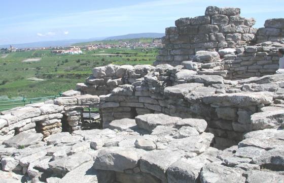 Villanovafranca, nuraghe di Su Mulinu