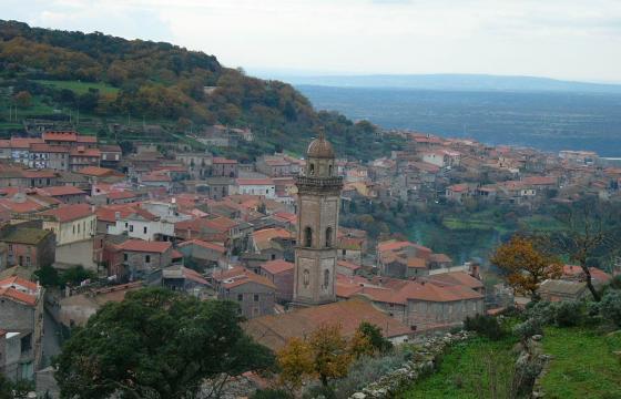 Panoramica di Busachi