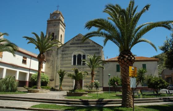Gonnostramatza, parrocchiale dedicata a San Michele Arcangelo