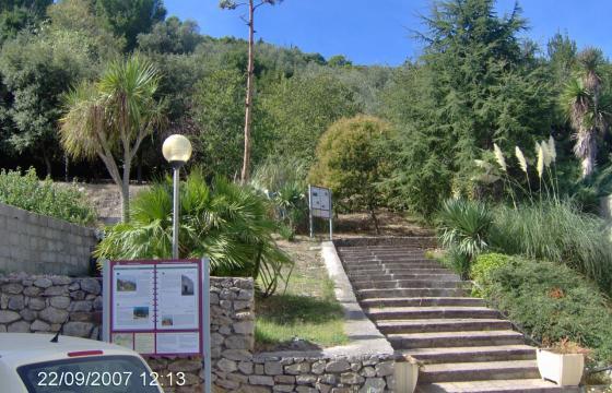 Muros, ingresso al Parco Su Monte