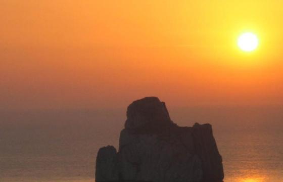 Masua, Pan di Zucchero al tramonto