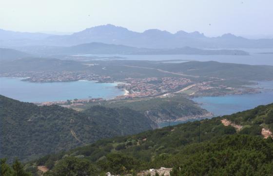 Golfo Aranci, panorama delle Cinque Spiagge