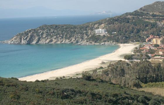 Sinnai, spiaggia di Solanas