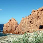 Tortolì, rocce rosse sul mare di Arbatax