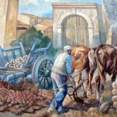 San Sperate, murale di via Sassari
