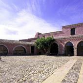 Las Plassas, Museo del Castello: cortile interno