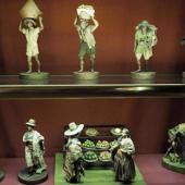 Sanluri, la collezione di cere all'interno del Castello