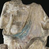 Cripta di Santa Restituta, Redentore in trono