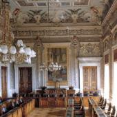 Decorazione del Salone del Consiglio del Palazzo Viceregio