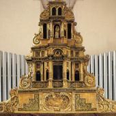 Monserrato, tabernacolo della chiasa di Sant'Ambrogio