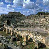 Pula, teatro romano di Nora
