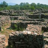 Dorgali, villaggio di Serra Orrios