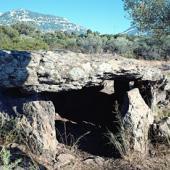 Dorgali, dolmen Motorra