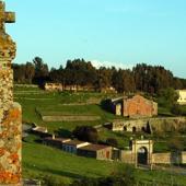 Sedilo, veduta del santuario di Santu Antine