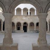 Alghero, chiostro della chiesa di San Francesco