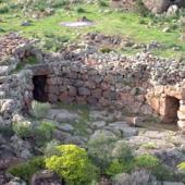 Olmedo, muraglia di Monte Baranta