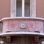 Balcone della Palazzina Lixi